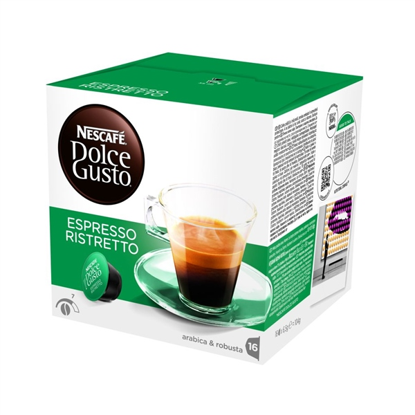 kapsle DOLCE GUSTO Ristretto