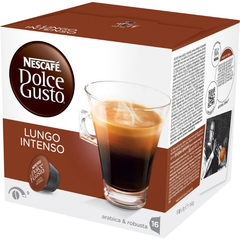 kapsle DOLCE GUSTO Lungo Intenso