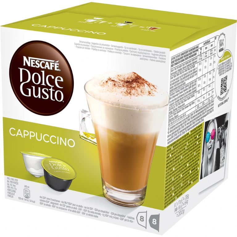 kapsle DOLCE GUSTO Cappuccino